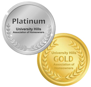 University Hills Platinum and Gold Members
