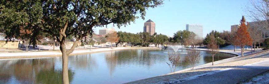 University Hills and las Colinas in Winter